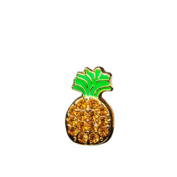 "Эмодзи Tinto ""Gold pineapple"", арт. AC2309, цвет Золотистый"