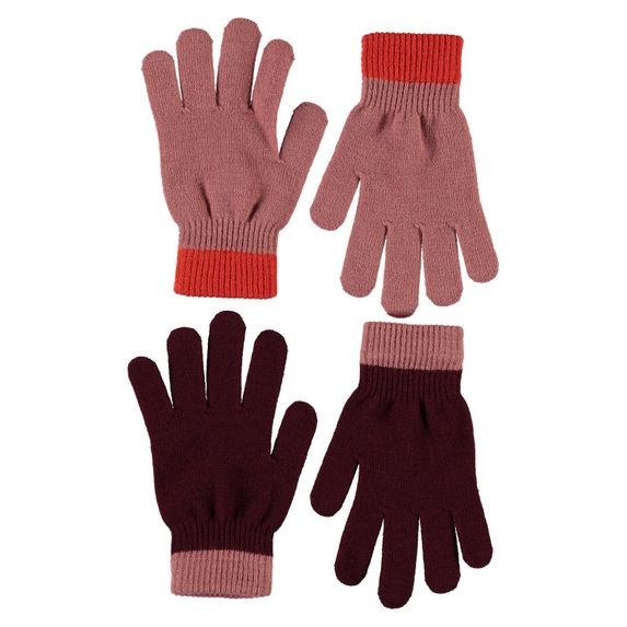Перчатки Molo Kello Desert Sand (2 пары), арт. 7W20S203.8217, цвет Бордовый