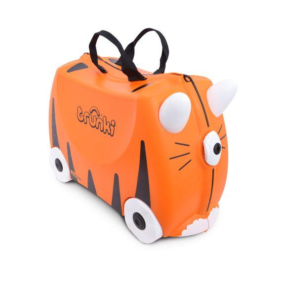 """Детский чемодан Trunki """"Tipu Tiger"""", арт. 0085-WL01-UKV, цвет Оранжевый"""
