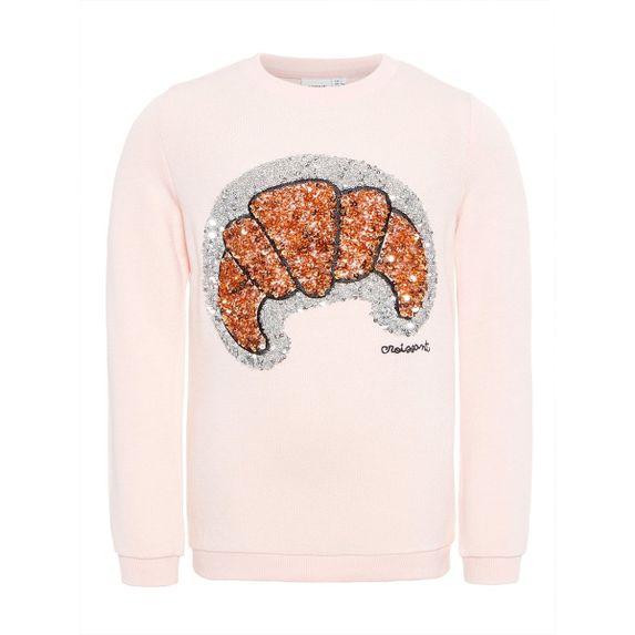 Джемпер Name it Сroissant (розовый), арт. 13161285.SCRE, цвет Розовый
