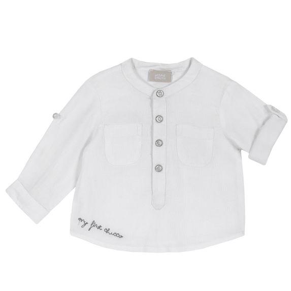 Рубашка Chicco First amour, арт. 090.54525.033, цвет Белый