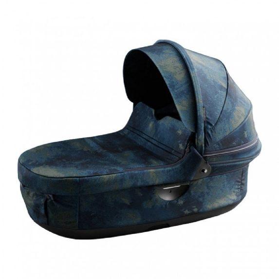 Люлька для коляски Stokke Trailz Freedom Limited Edition, арт. 504009, цвет Синий