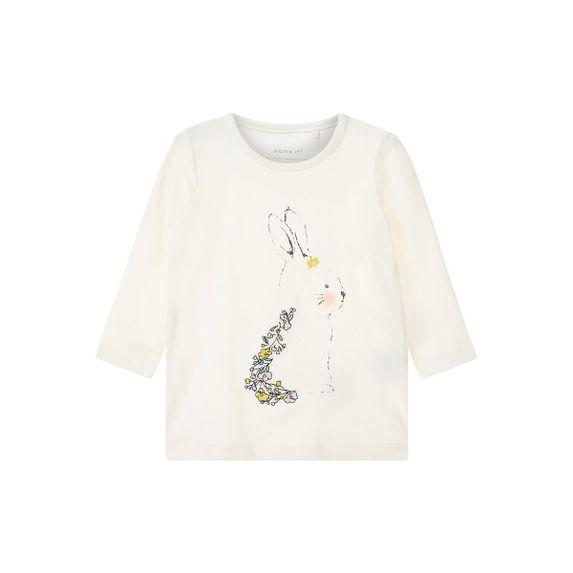 Реглан Name it Little rabbit, арт. 13166122.SWHI, цвет Белый
