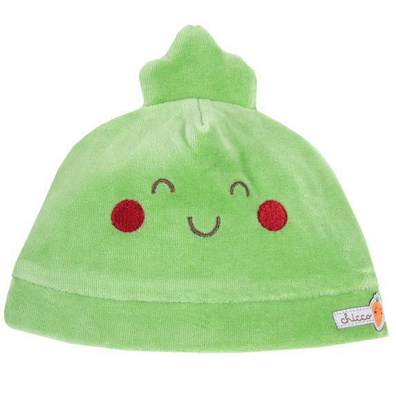 Шапка велюровая Chicco Green, арт. 090.04533.055, цвет Светло-зеленый