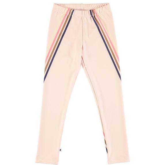 Леггинсы Molo Nikia 4 Stripes Dawn , арт. 2W18F206.2871, цвет Розовый