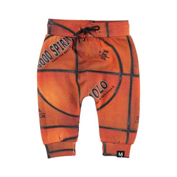 Брюки Molo Solom Basket Structure Small, арт. 3W19I207.6004, цвет Оранжевый