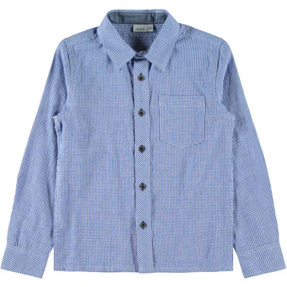 Рубашка Name it Raymont, арт. 203.13176424.DBLU, цвет Голубой