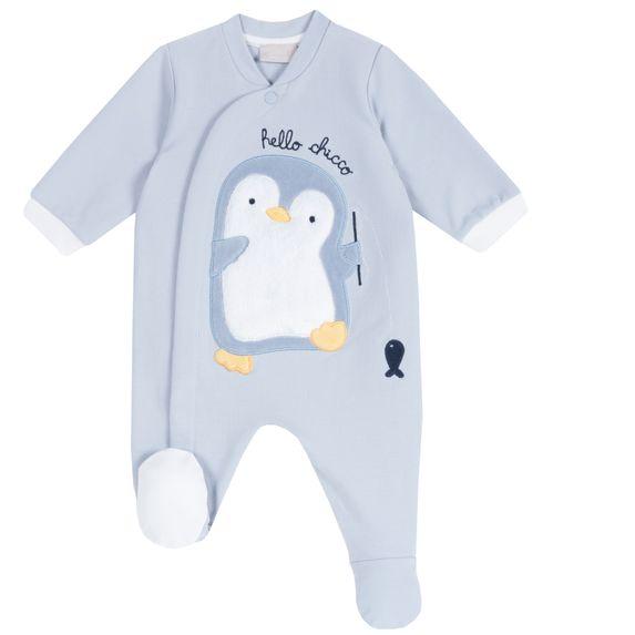 Комбинезон Chicco Pinguino, арт. 090.02044.025, цвет Голубой