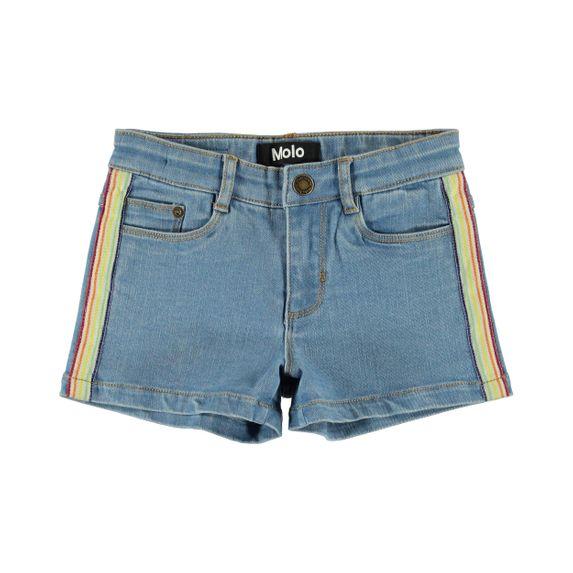 Шорты джинсовые Molo Angelina Light Blue Denim, арт. 2S20H105.8168, цвет Голубой