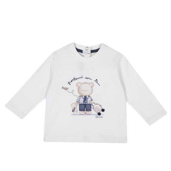 Реглан Chicco Sweet bear, арт. 090.47488.030, цвет Белый