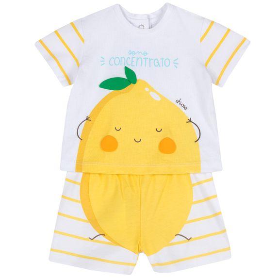 Костюм Chicco Lemon: футболка и шорты, арт. 090.76381.041, цвет Желтый