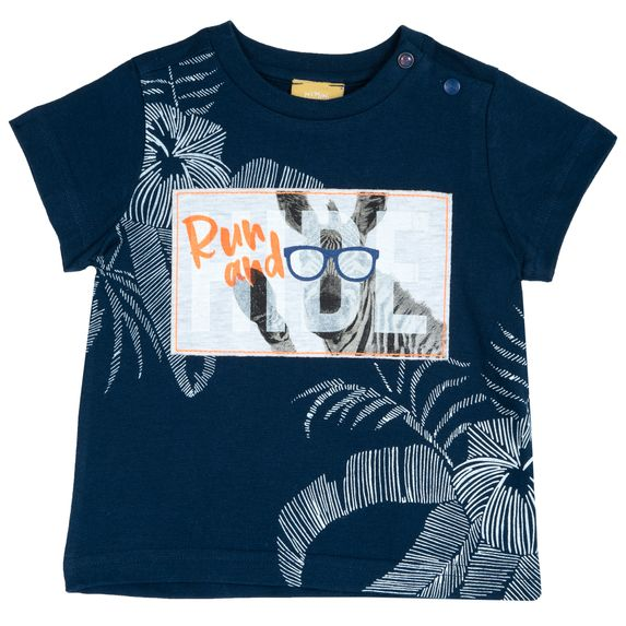 Футболка Chicco Run & Hide, арт. 090.06988.088, цвет Синий
