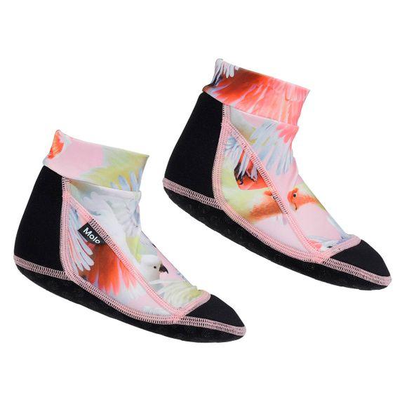 Носки-аквашузы для плавания Molo Zabi Cockatoos, арт. 7S20U301.6026, цвет Коралловый