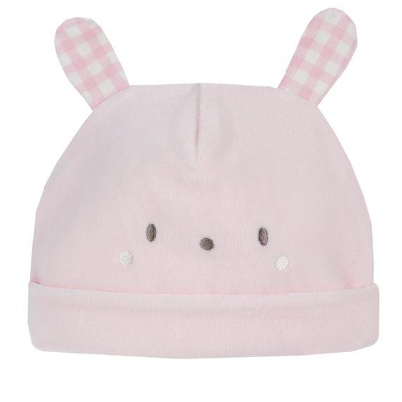 Шапка велюровая Chicco Baby rabbit, арт. 090.04238.011, цвет Розовый