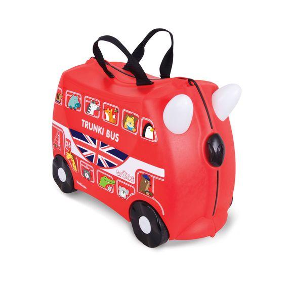 """Детский чемодан Trunki """"Boris Bus"""" , арт. 0186-GB01-UKV, цвет Красный"""