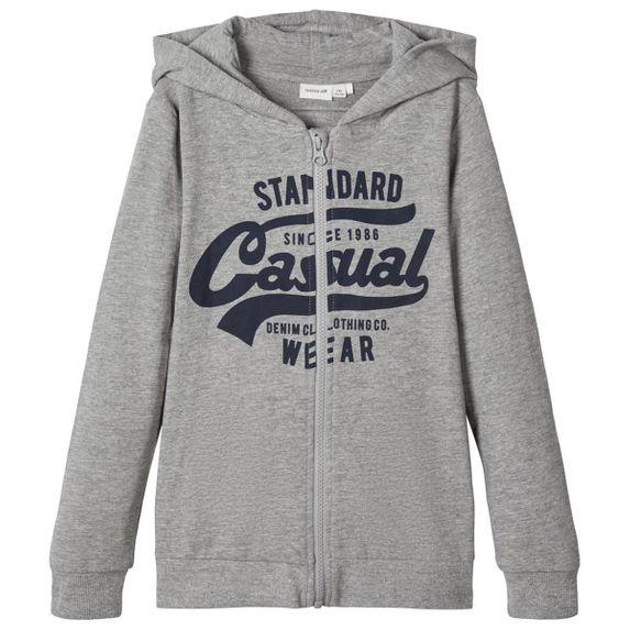 Кардиган Name it Casual (серый), арт. 203.13174795.GMEL, цвет Серый