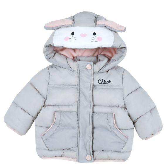 Термокуртка Chicco Thermore Happy bunny, арт. 090.87513.091, цвет Серый