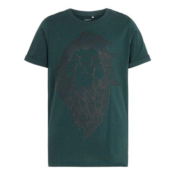 Футболка Name it Lion king, арт. 193.13167494.GGAB, цвет Зеленый