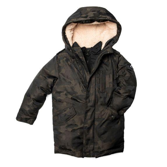 Куртка пуховая Appaman Alex , арт. 193.U5HDC.jrc, цвет Оливковый