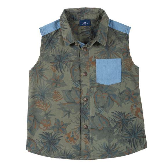 Рубашка Chicco Alim, арт. 090.66549.055, цвет Оливковый
