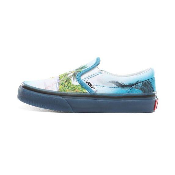 Слипоны Vans (Molo) Surf , арт. VA32QIVIF, цвет Голубой