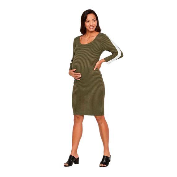 Платье для беременных Mamalicious Hanna, арт. 201.20010648.DOLI, цвет Оливковый