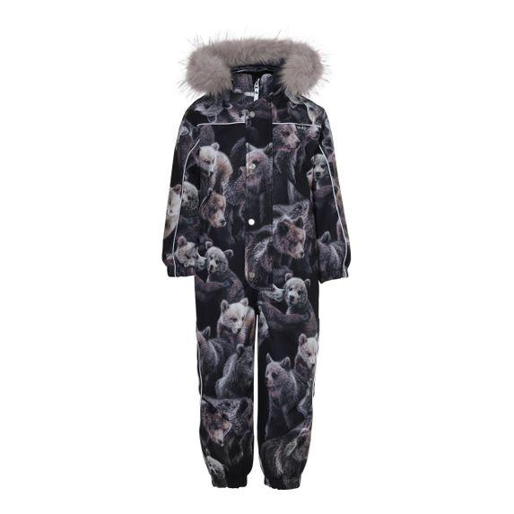 Термокомбинезон горнолыжный Molo Polaris Fur Teddy, арт. 5W20N202.6135, цвет Черный
