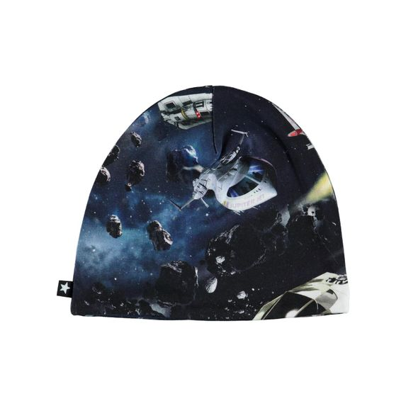 Шапка Molo Ned Space Traffic, арт. 7W19T204.4882, цвет Синий