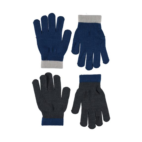 Перчатки Molo Kello Ocean Blue (2 пары), арт. 7W19S205.8023, цвет Синий