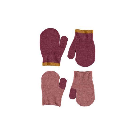 Варежки Molo Kenny Desert Sand (2 пары), арт. 7W20S102.8217, цвет Розовый