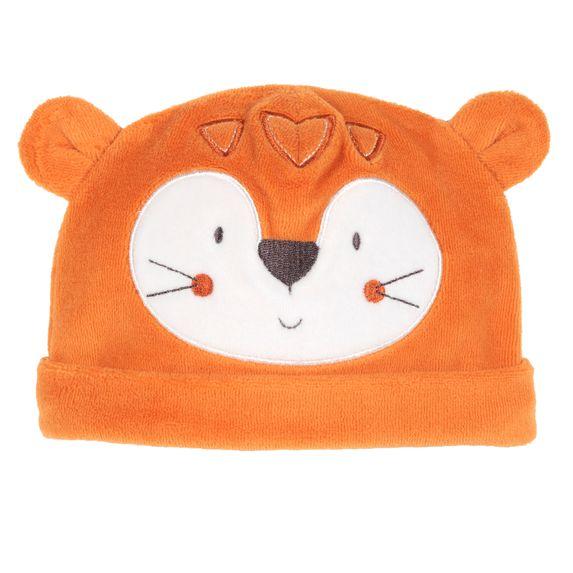 Шапка велюровая Chicco Tiger, арт. 090.04082.047, цвет Оранжевый