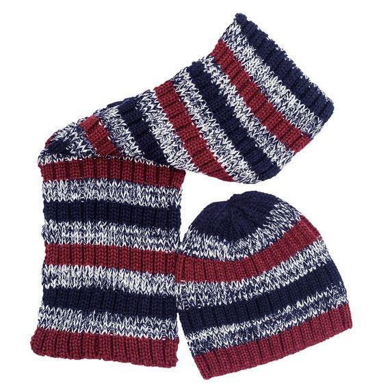 Комплект Chicco Go: шапка и шарф, арт. 090.04072, цвет Синий