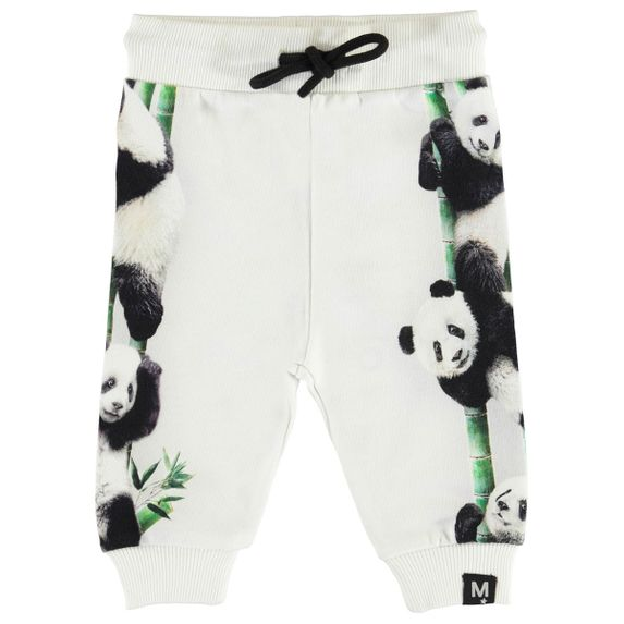 Брюки Molo Sol Climbing Panda, арт. 3S20I208.7147, цвет Белый