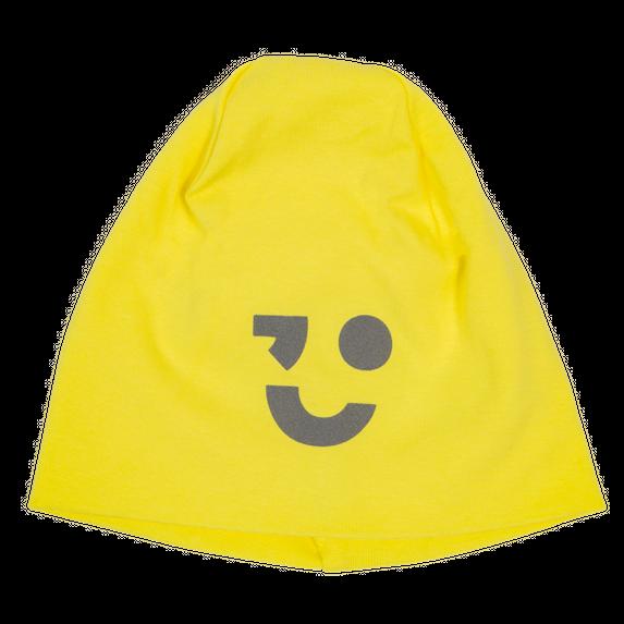 Шапка Name it Smile Yellow, арт. 201.13173550.LIME, цвет Желтый