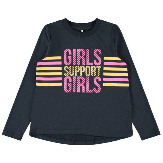 Реглан Name it Girls support , арт. 201.13179268.DSAP, цвет Синий