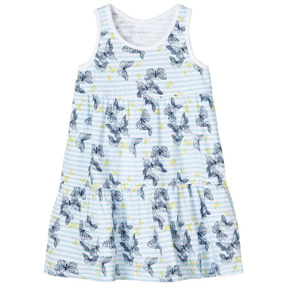 Платье Name it Butterflies, арт. 201.13173809.DBLU, цвет Голубой