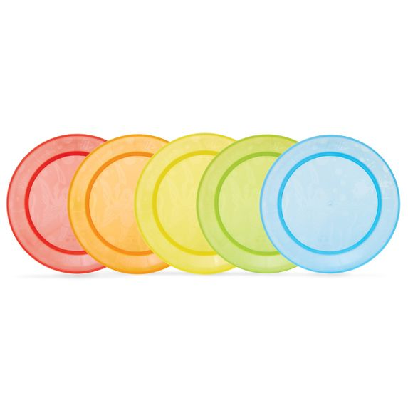 Набор тарелок Munchkin, 5 шт., арт. 01139001, цвет Разноцветный