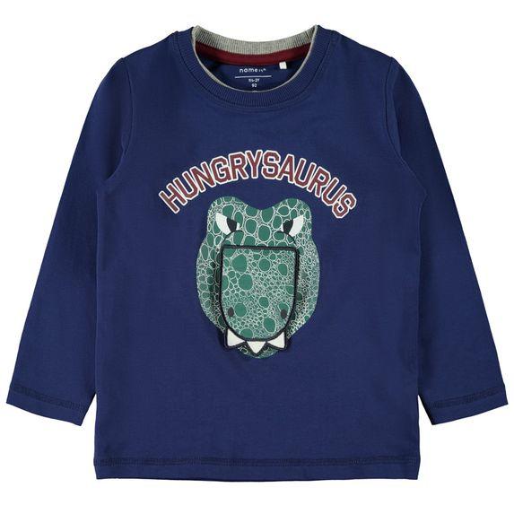 Реглан Name it Hungrysaurus, арт. 193.13168969.BDEP, цвет Синий
