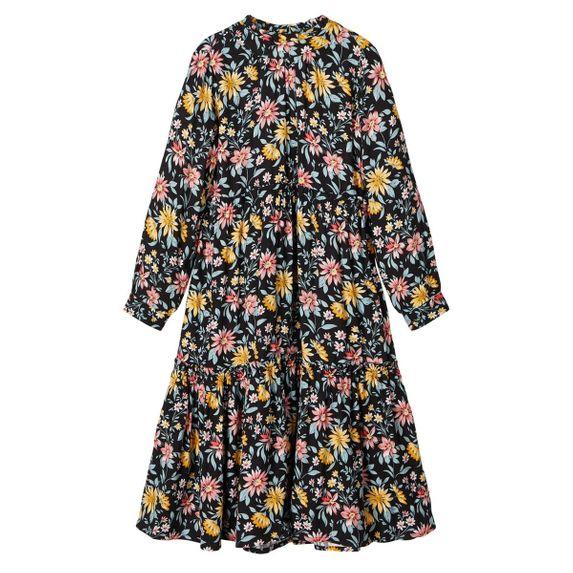 Платье Name it Magic garden, арт. 201.13171074.BLAC, цвет Черный