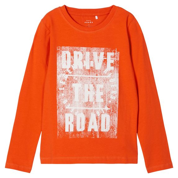 Реглан Name it Drive the road, арт. 203.13179180.TIGE, цвет Оранжевый