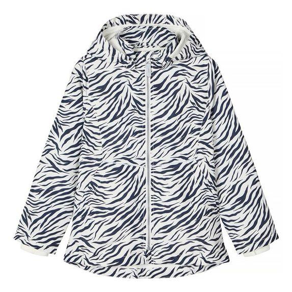 Куртка Name it Zebra, арт. 201.13176641.SWHI, цвет Черно-белый