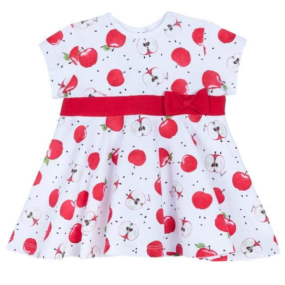 Платье Chicco Apple garden, арт. 090.03606.037, цвет Белый