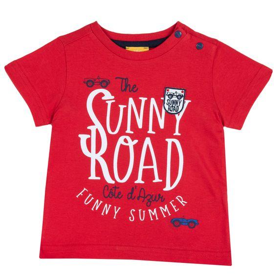 Футболка Chicco Funny summer, арт. 090.06959.075, цвет Красный