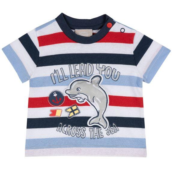 Футболка Chicco Dolphin, арт. 090.06876.038, цвет Красный с синим