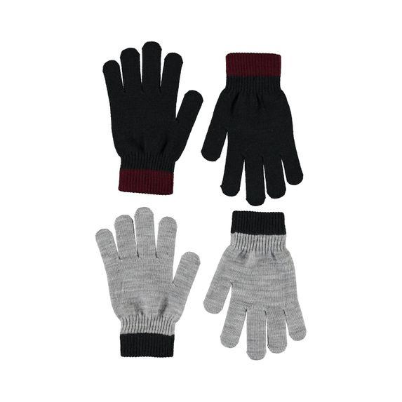 Перчатки Molo Kello Black (2 пары), арт. 7W20S203.0099, цвет Серый
