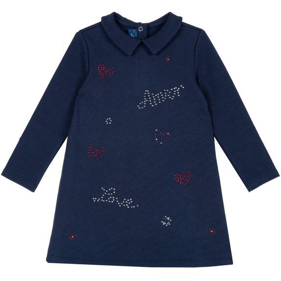 Платье Chicco Harper, арт. 090.03774.088, цвет Синий