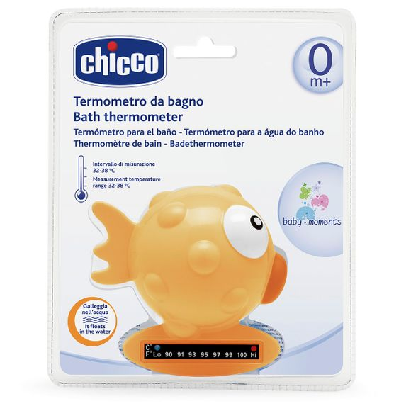 """Термометр для ванной Chicco """"Рыбка"""", арт. 06564, цвет Оранжевый"""