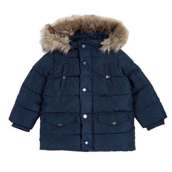 Куртка пуховая Chicco Edwin, арт. 090.87521.088, цвет Синий