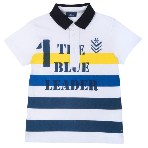 Поло Chicco Only winner, арт. 090.33551.033, цвет Синий с белым