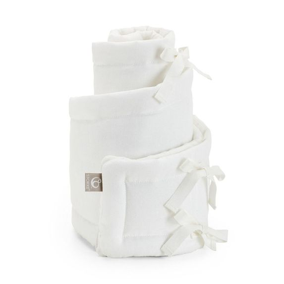 Защита (бампер) Stokke Sleepi Mini для люльки, 25х234 см, арт. 1054, цвет Белый